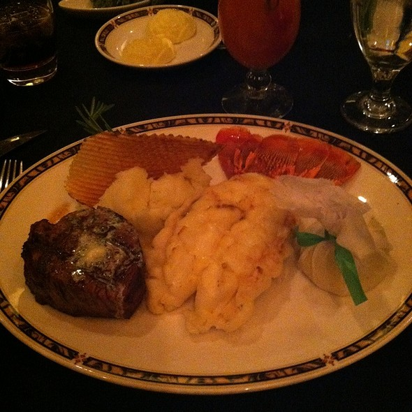 Surf And Turf - Silverado Steak House - South Point Casino, Las Vegas, NV