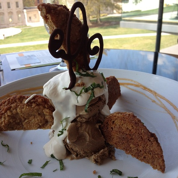 Deconstructed Ice Cream Sandwhich - Amuse at The Virginia Museum of Fine Arts, Richmond, VA