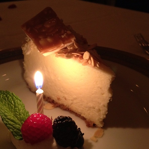 New York Style Cheesecake - Bohanan's Prime Steaks and Seafood, San Antonio, TX