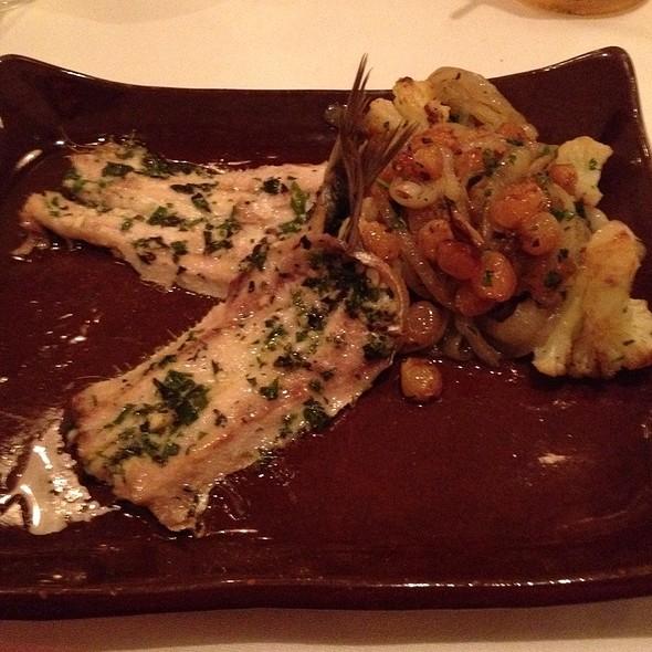 Baked Sardines Oreganto, Cauliflower, Onions & Raisins  - Radice, Blue Bell, PA