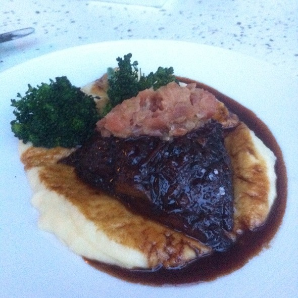 Braised Short Ribs - Cobalt Restaurant and Lounge - Vero Beach Hotel and Spa, Vero Beach, FL