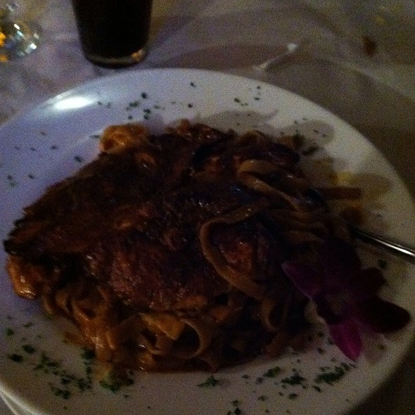Cajun Style Fettucine With Chicken - Austin's Ale House, Kew Gardens, NY