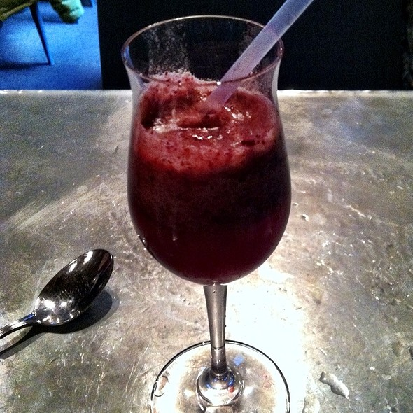 Raspberry Sorbet Smoothie - The Blue Room, Cambridge, MA