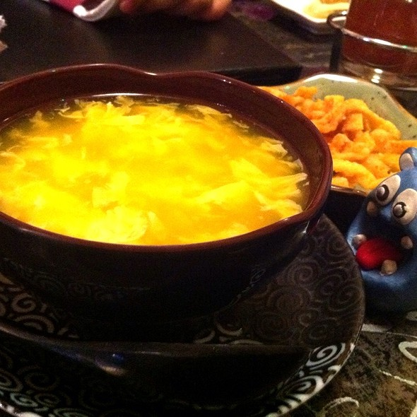 Egg Drop Soup - Young Chow Chen's Asian Restaurant and Sushi Bar, Washington, DC