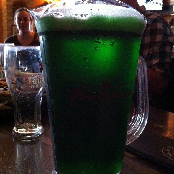 Green Beer - Elephant & Castle - Toronto King St., Toronto, ON