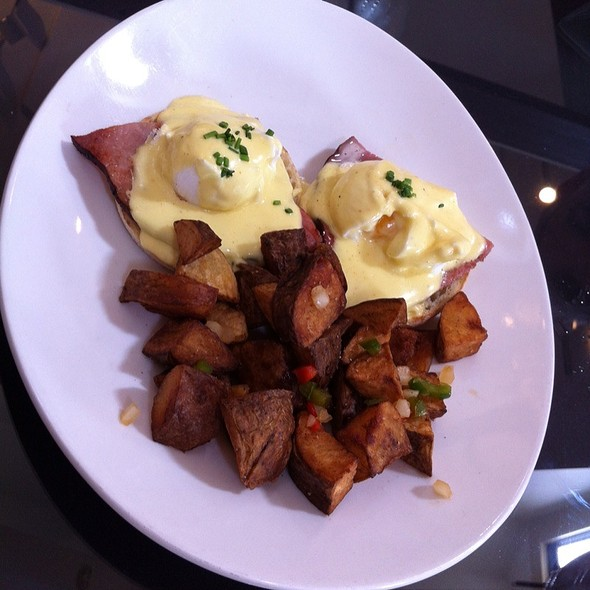 Eggs Benedict - Harding House, Nashville, TN