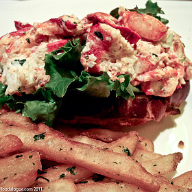 Lobster Roll (Sandwich) - The Capital Grille - Boca Raton, Boca Raton, FL