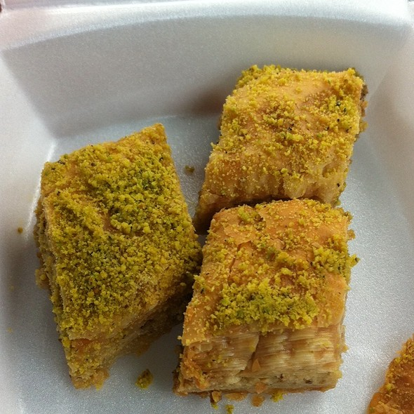 Pistachio Walnut Baklava - Kabobji - North Miami Beach, North Miami Beach, FL