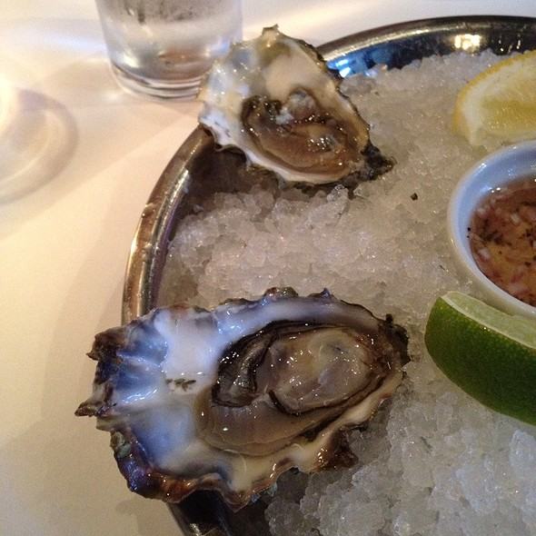 Oysters - Cork and Fin, Vancouver, BC
