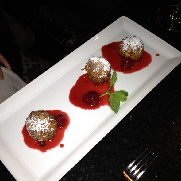 Cheesecake Beignets - Sally's Fish House & Bar, San Diego, CA