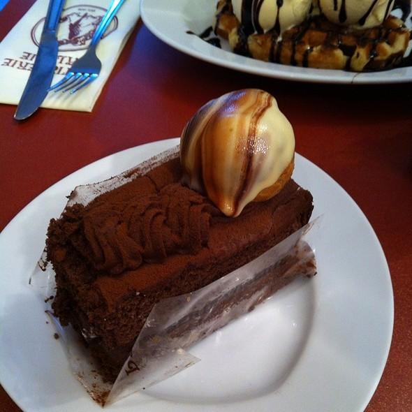 Chocolate Cake - Gaucho Manchester, Manchester