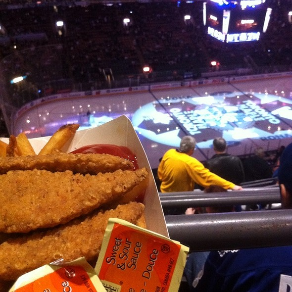 Chicken Strips And Fries - Air Canada Club - MLSE, Toronto, ON