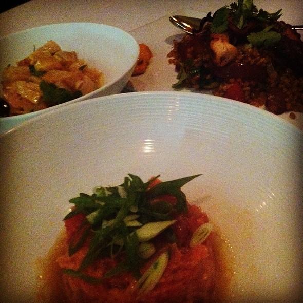 Ceviche. Grilled Octopus. Tuna Tar Tar. - AltaMare, Miami Beach, FL