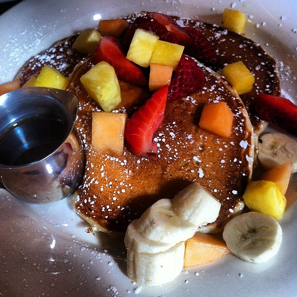 pancakes - Cornelia Street Cafe, New York, NY