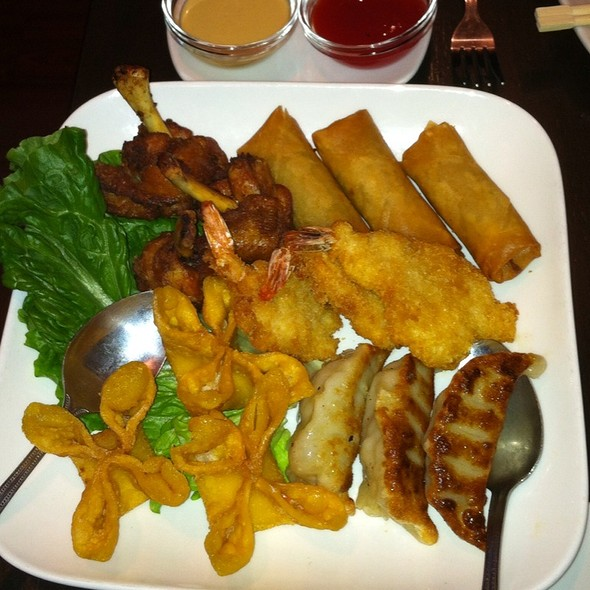 Appetizer Sampler - Crouching Tiger Restaurant, Redwood City, CA