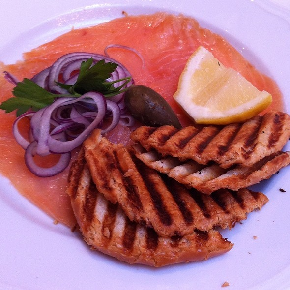 Smoked salmon - Sant Ambroeus - Madison Avenue, New York, NY