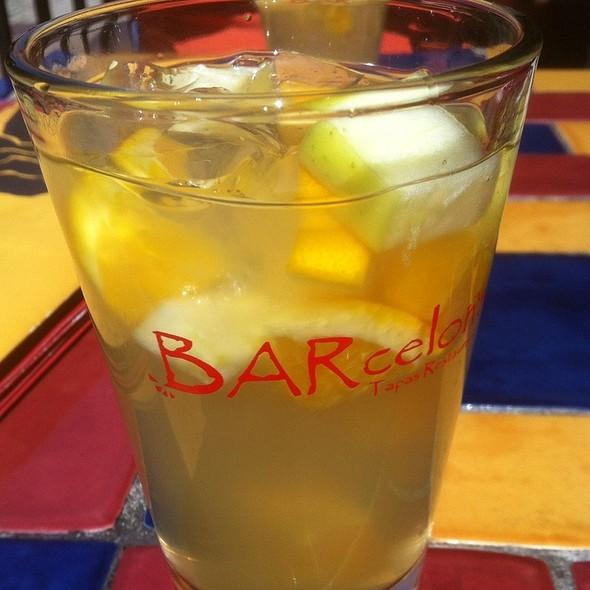 White Sangria - BARcelona Tapas Restaurant, Clayton, MO