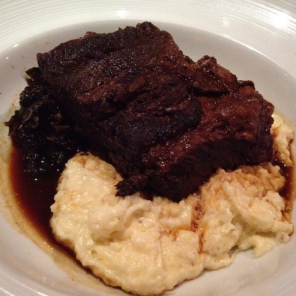 Beef Short Ribs W/Chs Grits & Colards - MoonShine - Modern Supper Club, Millburn, NJ