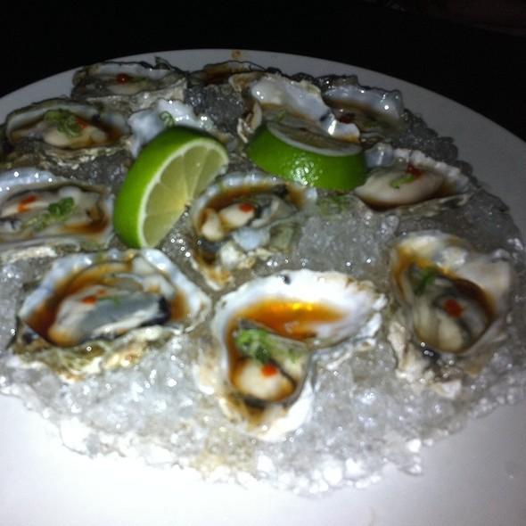 Kumamoto Oysters with Momiji Ponzu  - Hotoke, New Brunswick, NJ