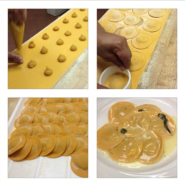 Homemade Butternut Squash Ravioli - Gaetano's Ristorante, Henderson, NV