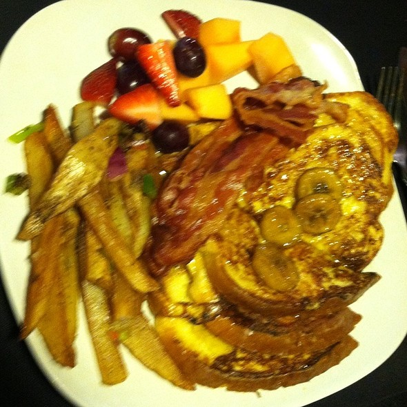 Bananas Foster French Toast - Bistro 109, Sevierville, TN