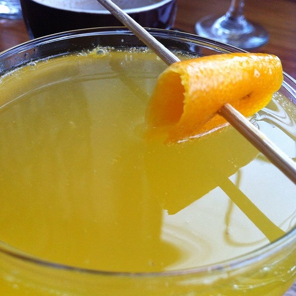 Mimosa With Orange Zest - Le Chien Fumant, Montréal, QC