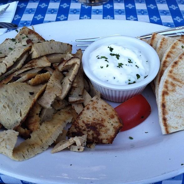 Chicken Gyro Pita - George's Greek Cafe - Belmont Shore, Long Beach, CA
