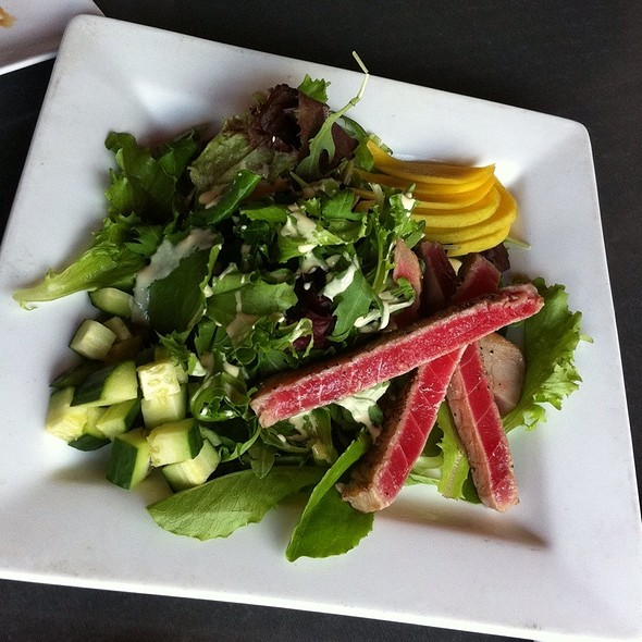Seared Ahi Tuna Salad - Lucky Belly, Nashville, TN