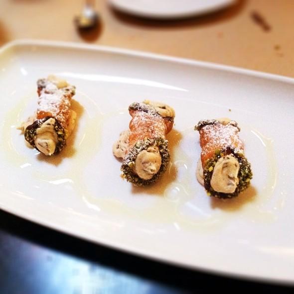 Sicilian Cannoli - CUCINA enoteca - Irvine, Irvine, CA
