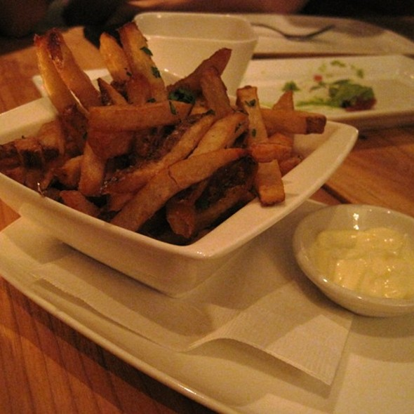 Yukon Gold Frites - Salt Wine Bar, Toronto, ON