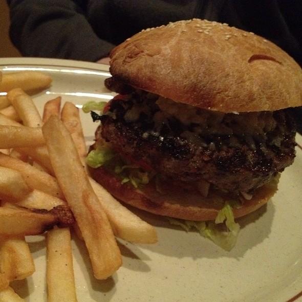 Kobe Beef Burger - Trapeze European Cuisine, Burlingame, CA