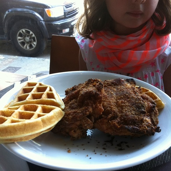 Chicken and Waffles - The Macintosh, Charleston, SC