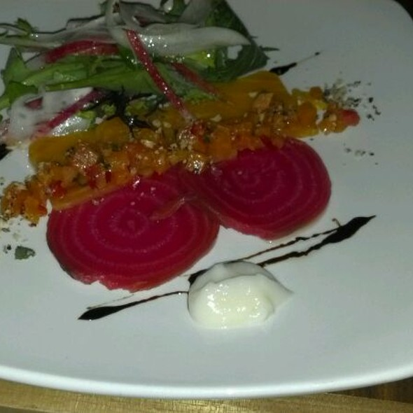 Beet Carpaccio - Natural Selection, Portland, OR