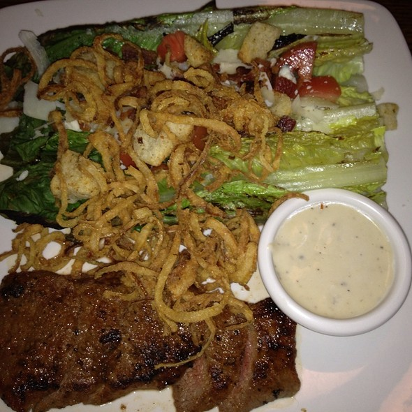 Seared Steak With Maytag Bleu Cheese Salad - Gamekeepers Taverne, Chagrin Falls, OH