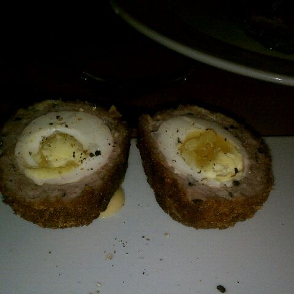 Scotch Eggs - Pourhouse Restaurant, Vancouver, BC