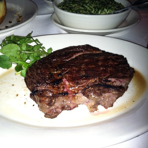 Ribeye Steak - Morton's The Steakhouse - San Francisco, San Francisco, CA