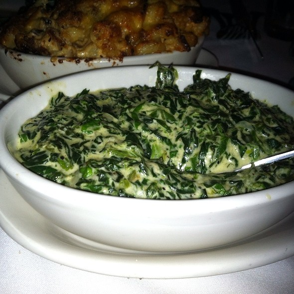Creamed Spinach - Morton's The Steakhouse - San Francisco, San Francisco, CA