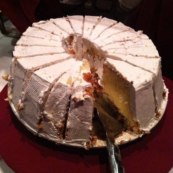 rum cake - V's Italiano Ristorante, Independence, MO