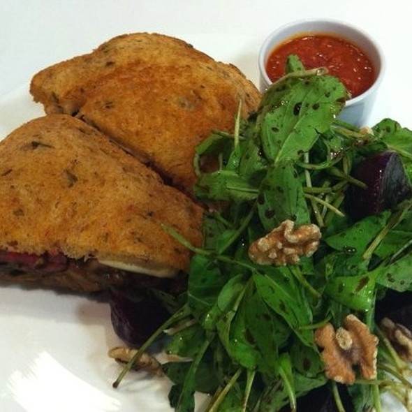 Eggplant Panini - Lightfoot Restaurant, Leesburg, VA