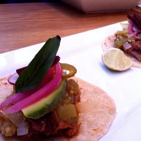 Lamb With Funky Chili Taco - Sidedoor Contemporary Kitchen & Bar, Ottawa, ON