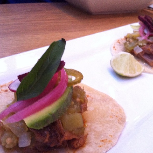 Lamb With Funky Chili Taco - Sidedoor Contemporary Kitchen & Bar, Ottawa, ON