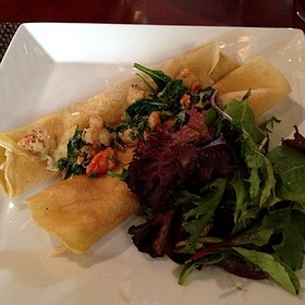 Seafood Crepes - Grand Cru Wine Bar & Bistro, Arlington, VA