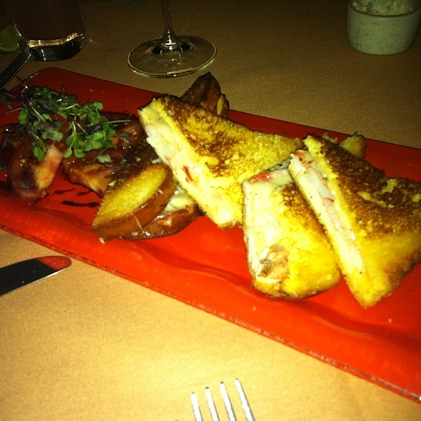 $40 Lobster Grilled Cheese Sandwich - Pamplemousse Grille, Solana Beach, CA
