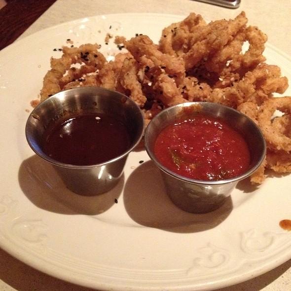 Marinated Calamari with Black Bean Sauce - Bogart's Bar & Grille, Boca Raton