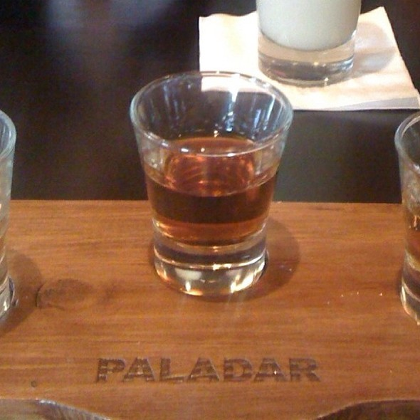 Rum Sampler - Paladar Latin Kitchen & Rum Bar, Annapolis, MD