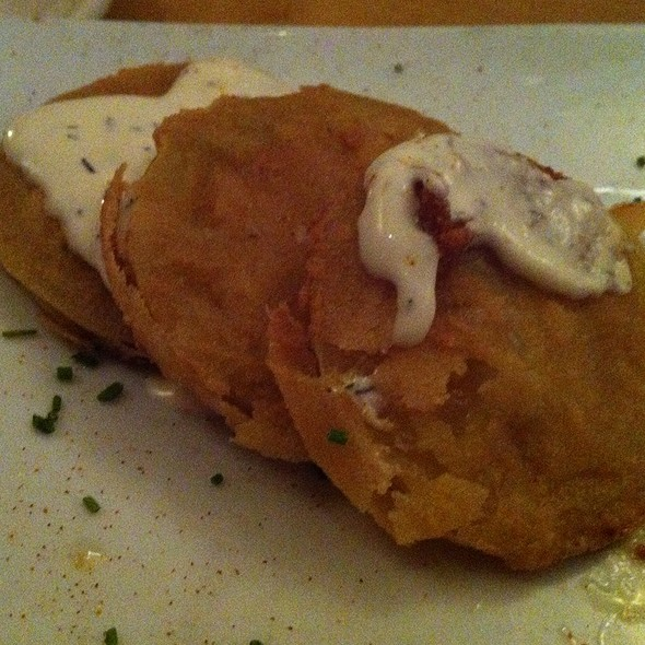 Fried Green Tomatoes - Paragon Restaurant & Bar, Seattle, WA