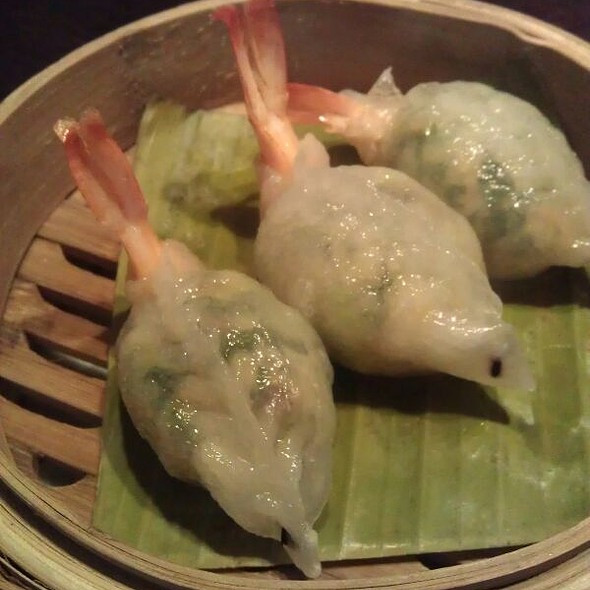 Sake Prawn Dumplings - Plum Valley, London