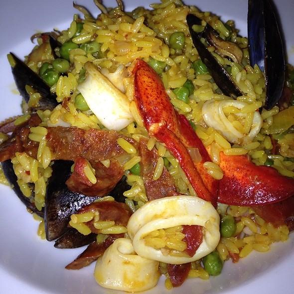 Seafood Paella - Indigo Restaurant, Fort Lauderdale, FL