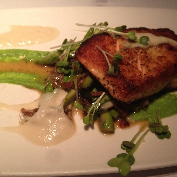 Lemongrass Crusted Scottish Salmon - Upstream - Charlotte, Charlotte, NC