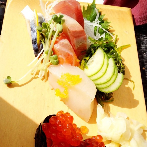 Sashimi - Sally's Fish House & Bar, San Diego, CA